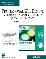 Professional Web Design: Techniques and Templates (CSS & XHTML) (Charles River Media Internet)